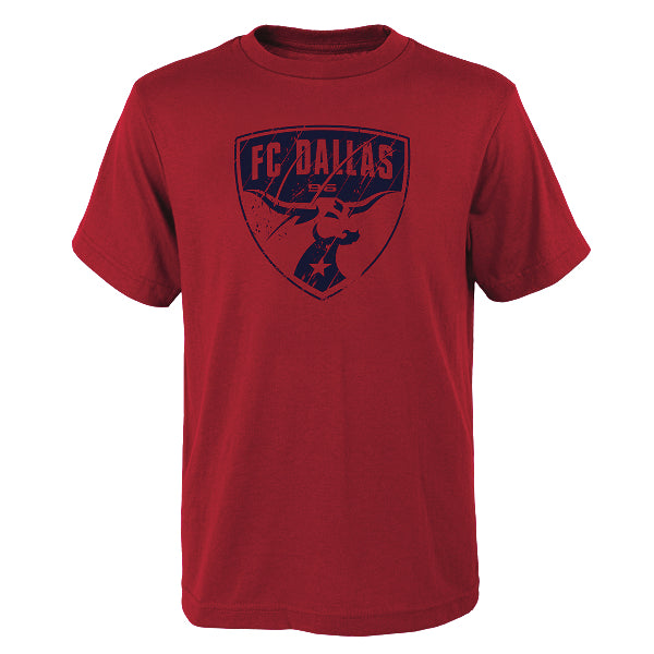 FC Dallas Youth Rush To Score Tee - Soccer90