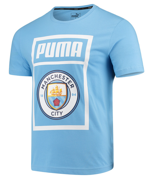 Manchester City Shoe Tag Tee - Soccer90