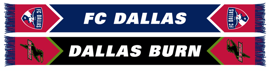 FC Dallas Burn Tribute Scarf - Soccer90