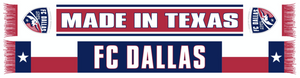 FC Dallas Made In Texas Scarf - Soccer90