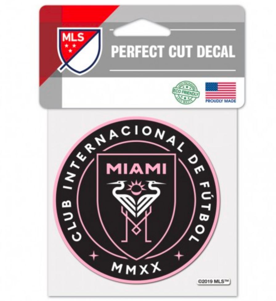 Inter Miami CF 4x4 Decal - Soccer90