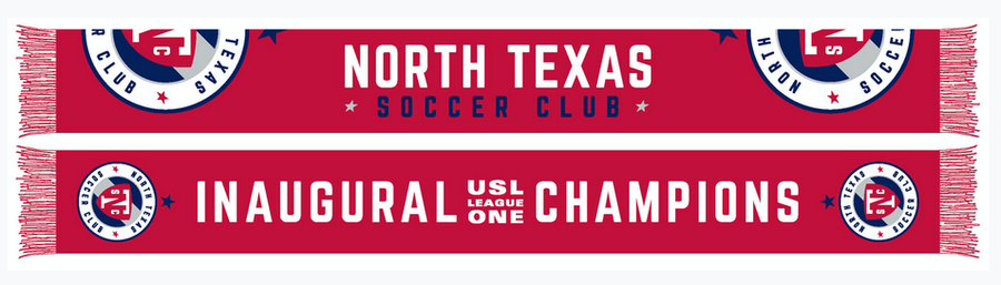 North Texas SC Star Scarf - Soccer90
