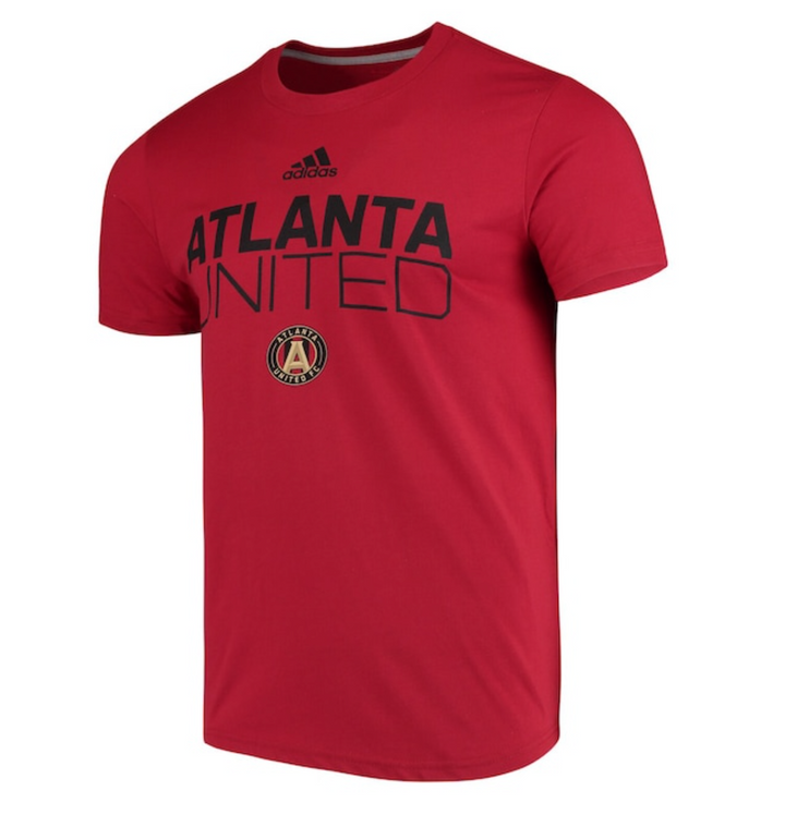 Atlanta United Team Stacked Tee - Soccer90