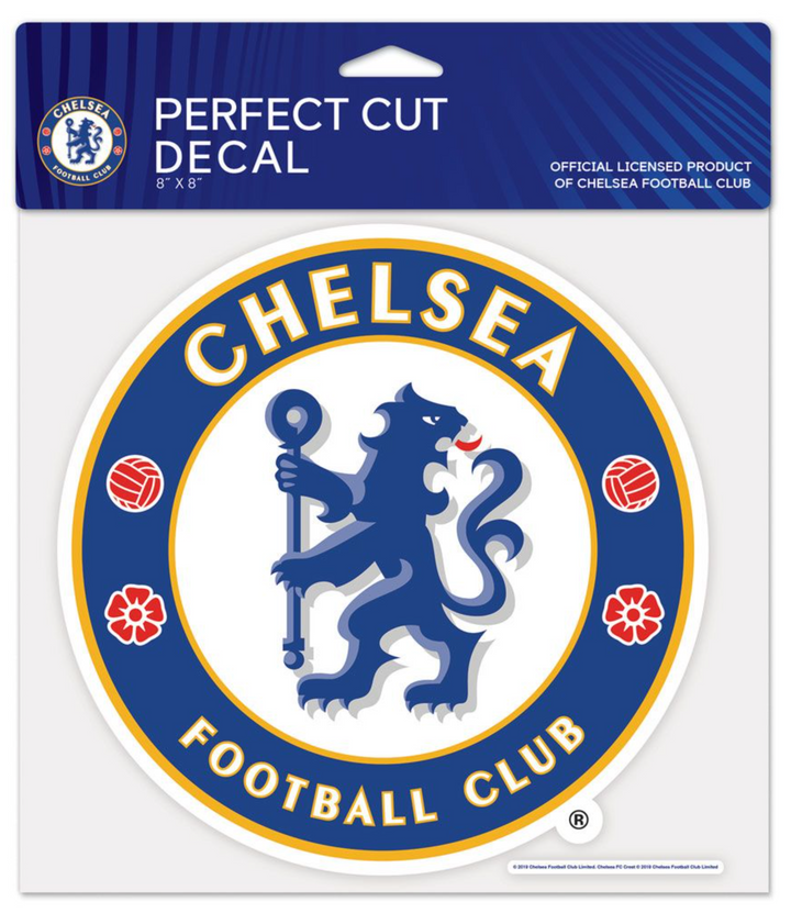 Chelsea FC 4x4 Perfect Cut Decal - Soccer90