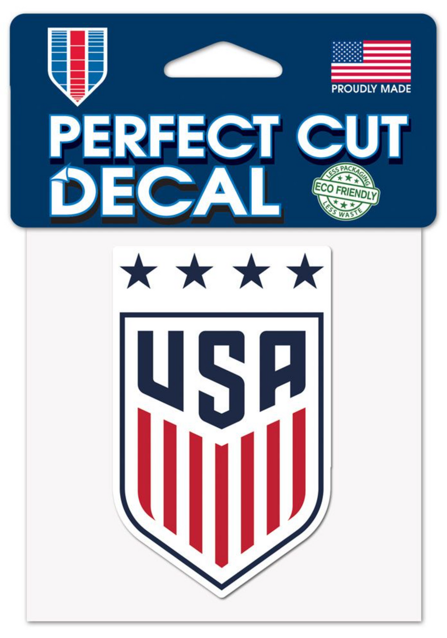 USWNT 4x4 Perfect Cut Decal - Soccer90