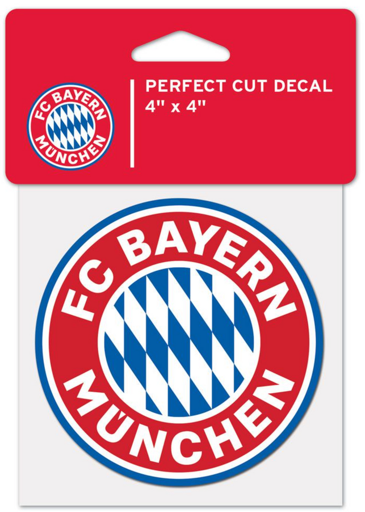FC Bayern Munich 4x4 Perfect Cut Decal - Soccer90