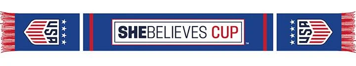 USWNT She Believes Cup Scarf - Soccer90