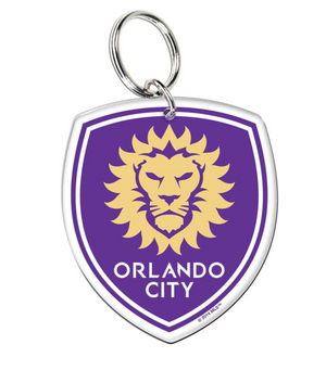 Orlando City Premium Key Ring - Soccer90