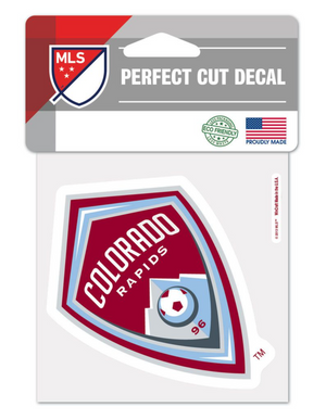 Colorado Rapids 4x4 Decal