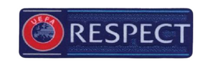 UEFA UCL Respect Jersey Badge - Soccer90