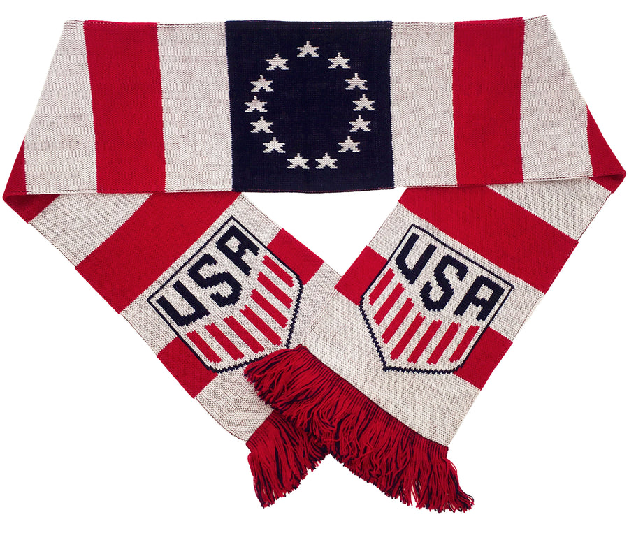 USA Colonial Scarf - Soccer90