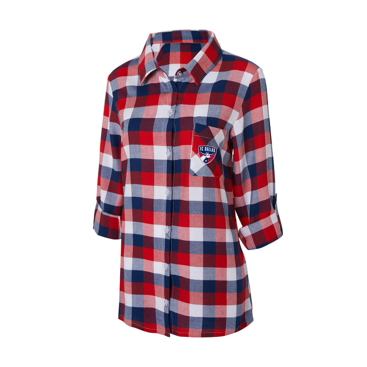 FC Dallas Breakout Women's Button-Up - Soccer90