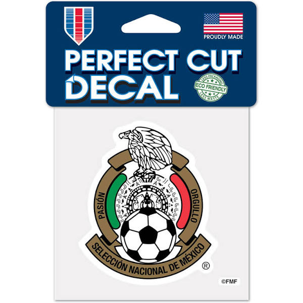 Mexico National Team 4x4 Decal - Soccer90
