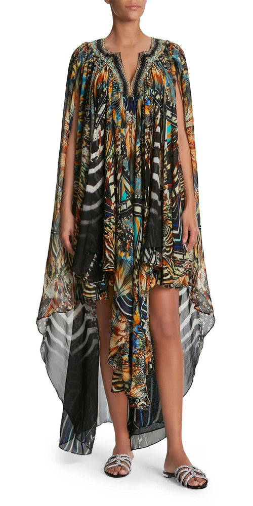 Long Printed Kaftan