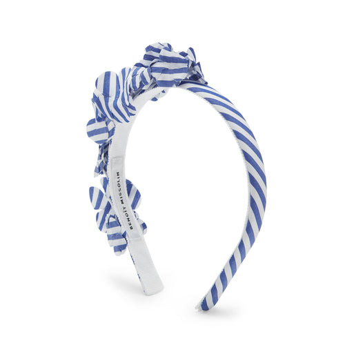 Clara Stripe Flower Headband