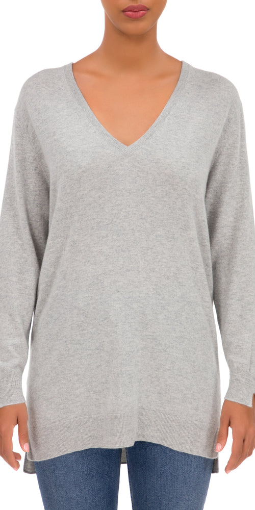Jane V Neck Long Sleeve