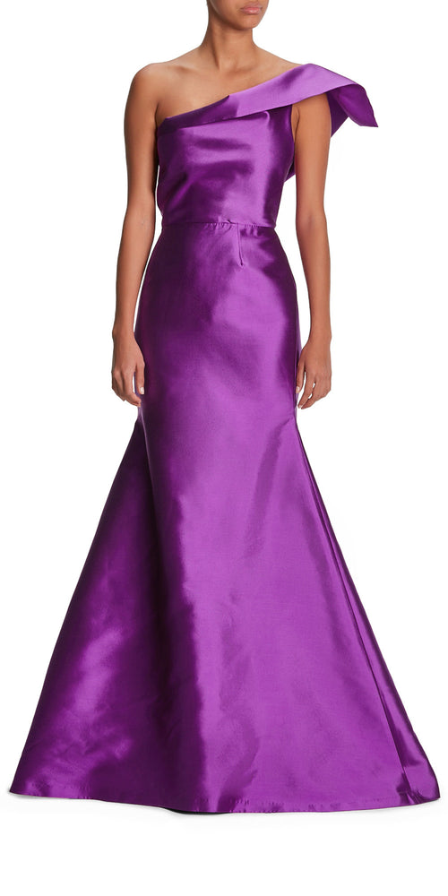 Santos One Shoulder Gown