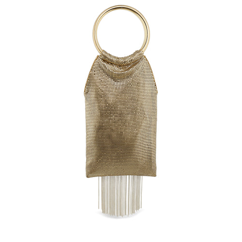 Gold Rush Fringe Bag