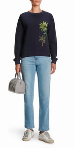 Phoebe Palm Sweatshirt