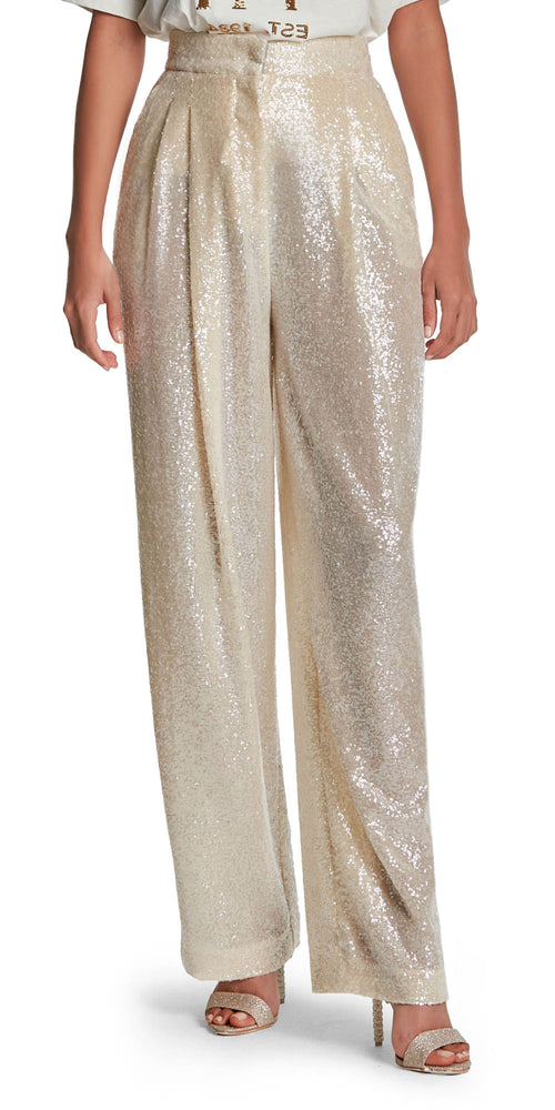 Sequin Wide Trousers