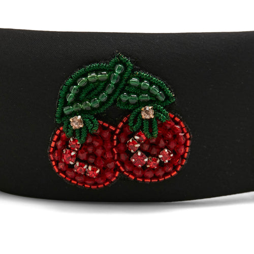 Fruit Embroidered Headband