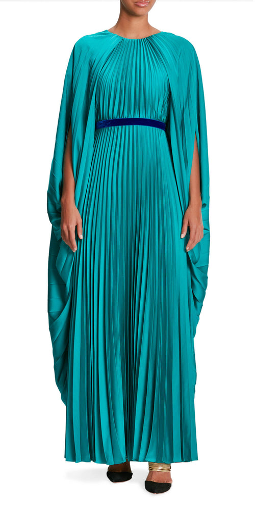 Inara Cape Pleat Gown