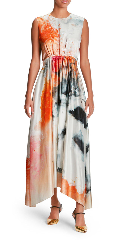 Nysa Sleeveless Explosion Dress
