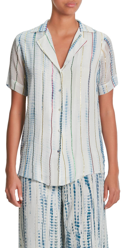 Esme Short Sleeve Tie Die Shirt