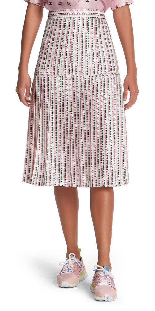 Liberty Zig Zag Pleat Skirt