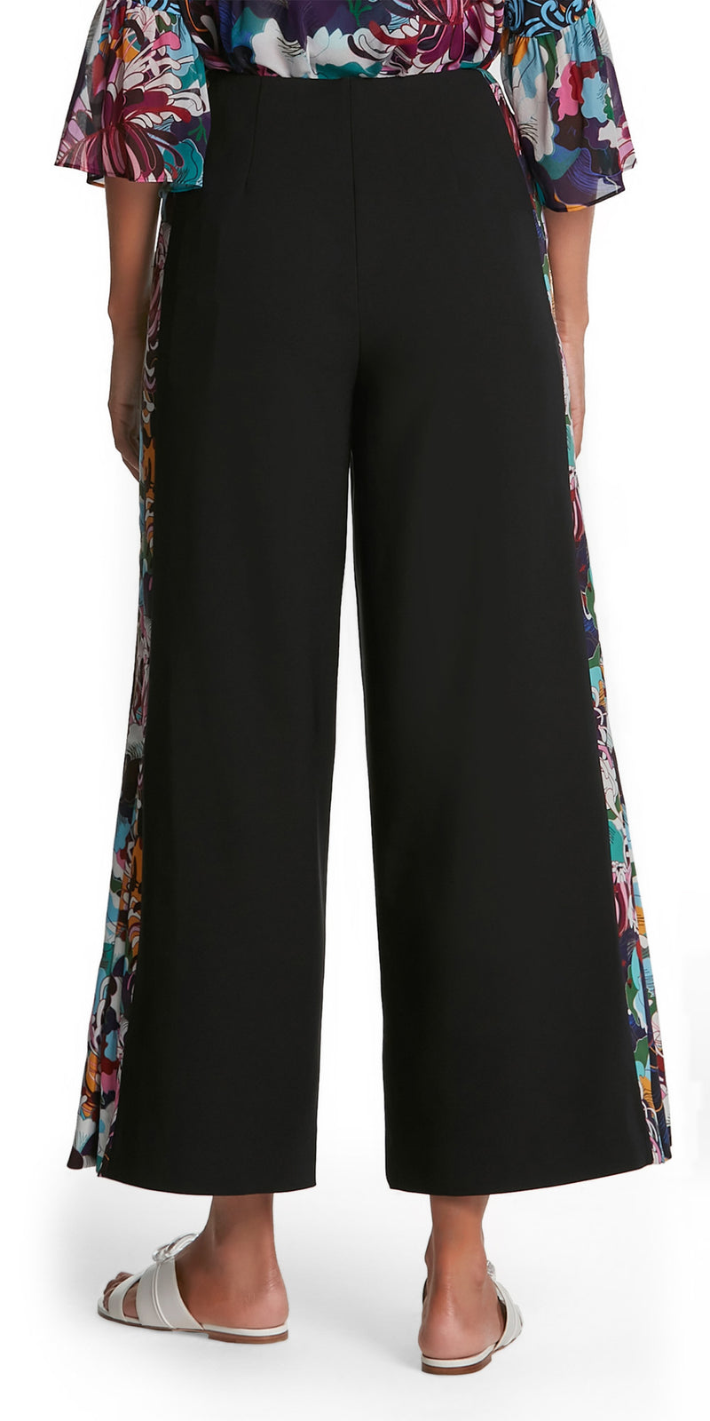 June Print Stripe Trousers