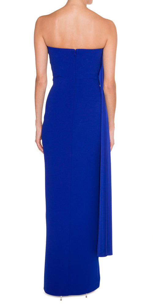 Strapless Royal Blue
