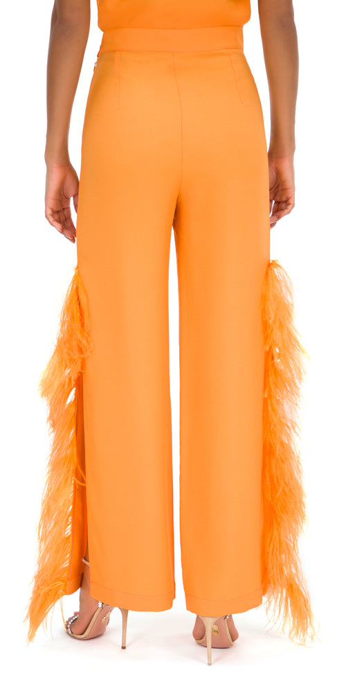 Donizetti Feathered Trousers