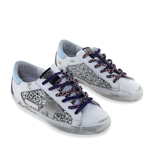 Glitter Grey Star Shoes