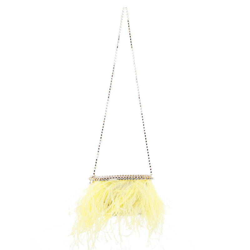 Josephine Feather Bag
