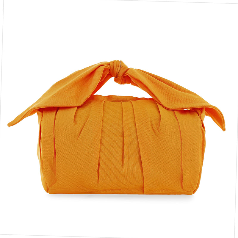 Orange Bow Bag