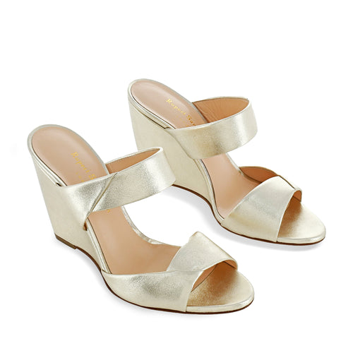Kasha Tapered Wedge Sandal