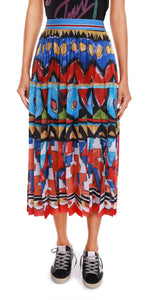 Habiba Pleat Skirt