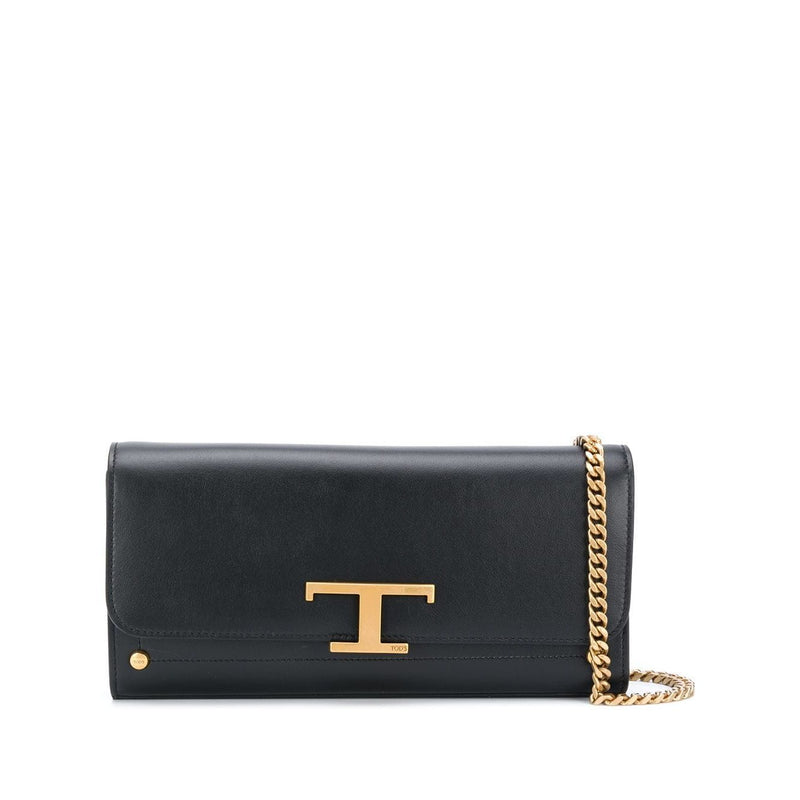 Crossbody Bag With 'T' Monogram
