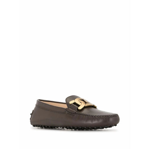 Gommini Loafers With 'Catena' Chain Accessory
