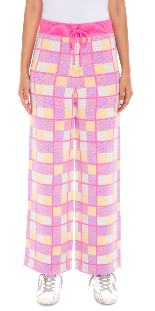 Isobel Checked Trouser