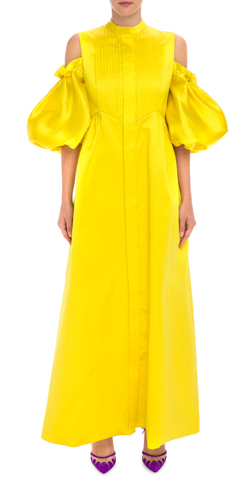 Puff Sleeve Gown