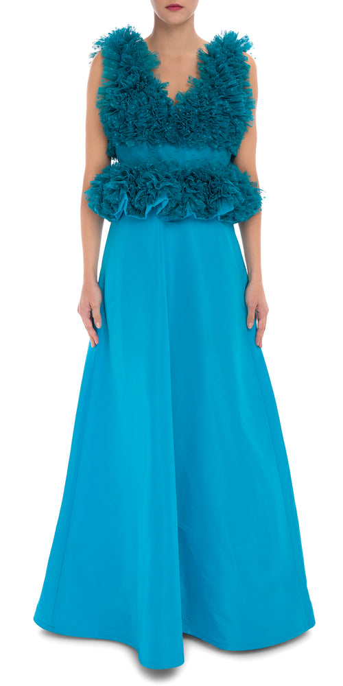 Queen Ruffle Gown