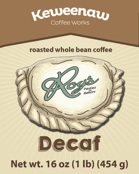 Roy's Decaf Coffee Blend