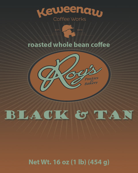 Roy's Black and Tan Coffee