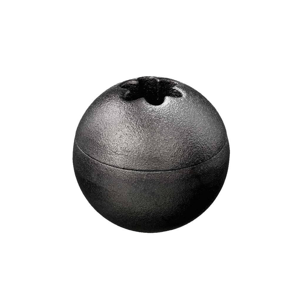 The Orb Candleholder, cast iron