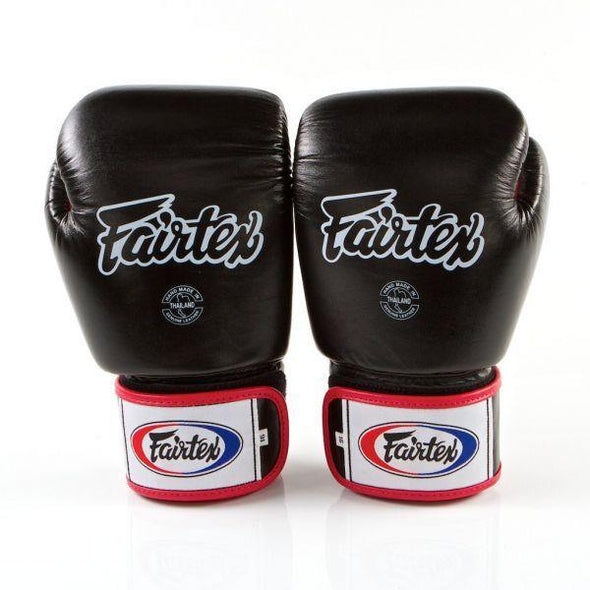 FAIRTEX 16 OZ TIGHT-FIT BOXING GLOVES - BGV1 - TRI COLOR