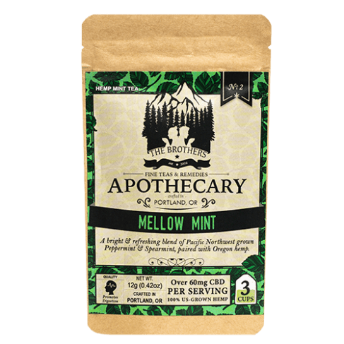 Brothers Apothecary Mellow Mint | Hemp CBD Tea (3 Pack)