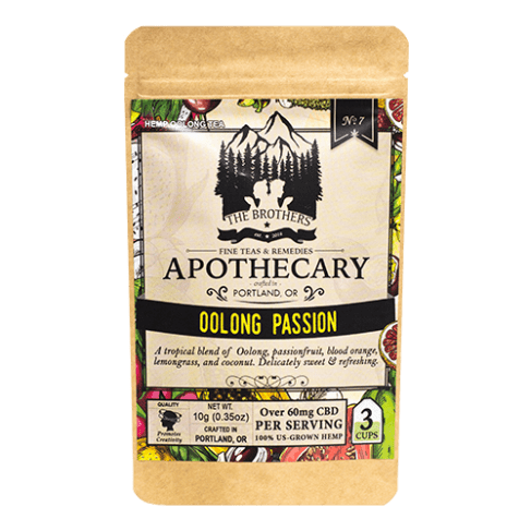 Brothers Apothecary Oolong Passion | Hemp CBD Tea