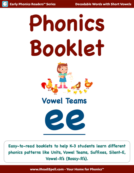 Phonics Patterns Booklets - (PDF Downloads)