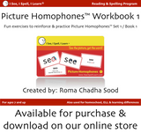 I See, I Spell, I Learn® - Picture Homophones™ Flashcards - Set 1